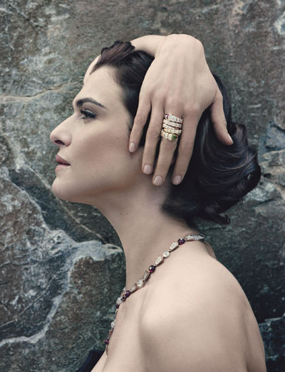 Rachel Weisz – Bulgari 2012 Serpenti Collection
