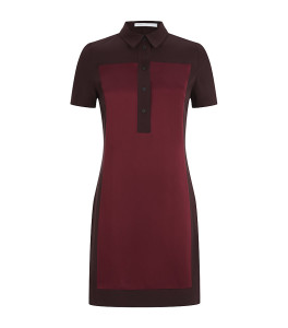 Victoria Beckham Polo Shirt Tunic Dress
