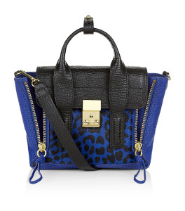 3.1 Philip Lim Mini Pashli Satchel In Leopard