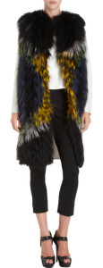 FENDI Fur Front Coat buy at BARNEYS