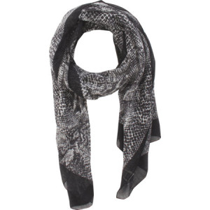 SAINT LAURENT Grand Reptile Print Stole buy at BARNEYS