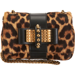 CHRISTIAN LOUBOUTIN Pony Hair Sweety Charity Bag buy at BARNEYS