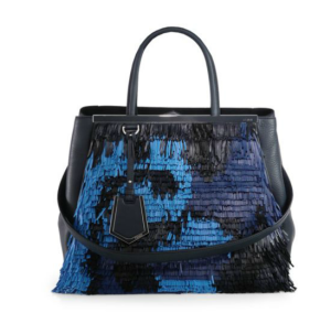 Fendi 2Jours Medium Fringe Shopper