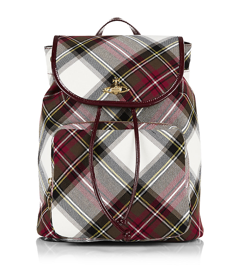 VIVIENNE WESTWOOD Winter Tartan Backpack buy HERE