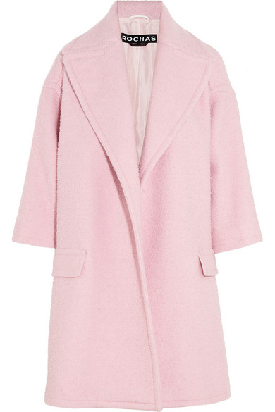 ROCHAS Oversized Wool-blend Coat buy HERE