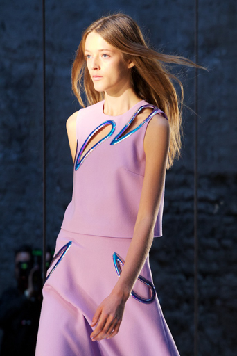 Christopher Kane SS14 (British Fashion Council) 1