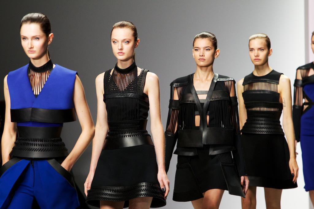David Koma SS14 (British Fashion Council) 1