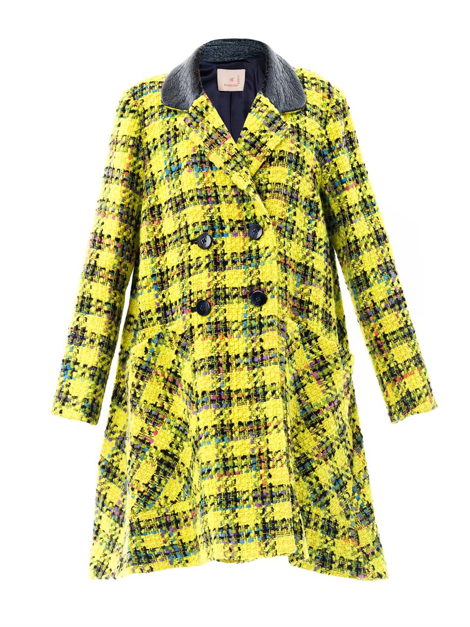 ELWOOD  Giant Plaid Tweed Coat buy HERE