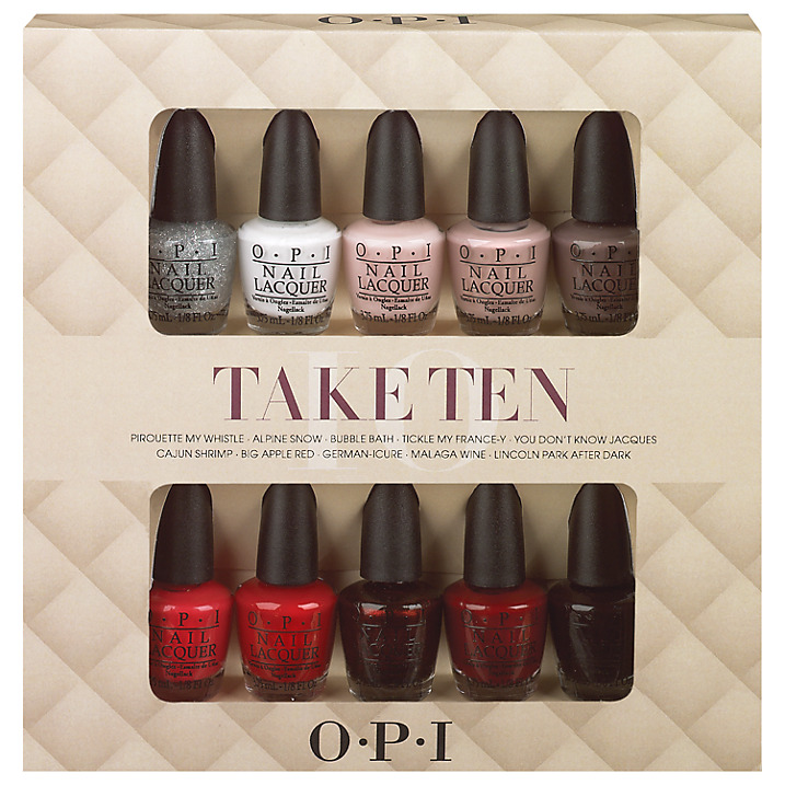 O.P.I Nail Lacquer Take Ten  buy HERE