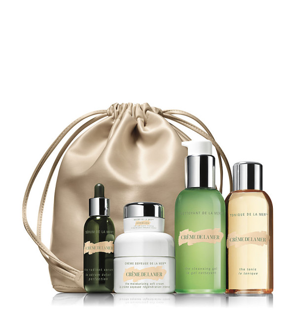 CRÈME DE LA MER The Luminous Essentials Starter Set buy HERE