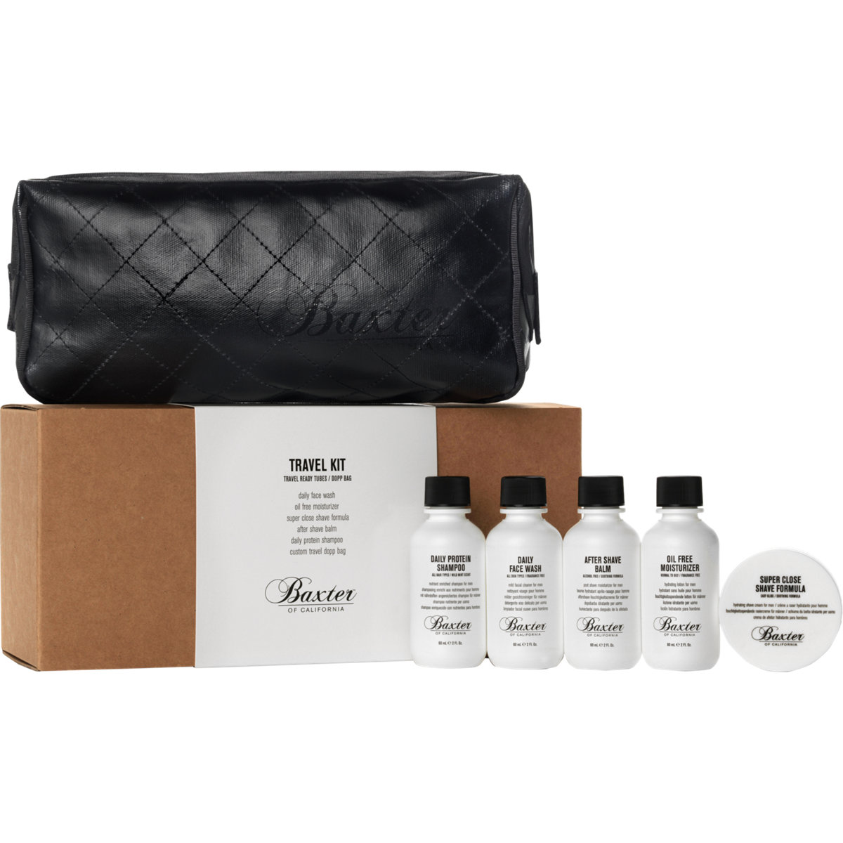 Baxter Of California  Travel Kit buy HERE