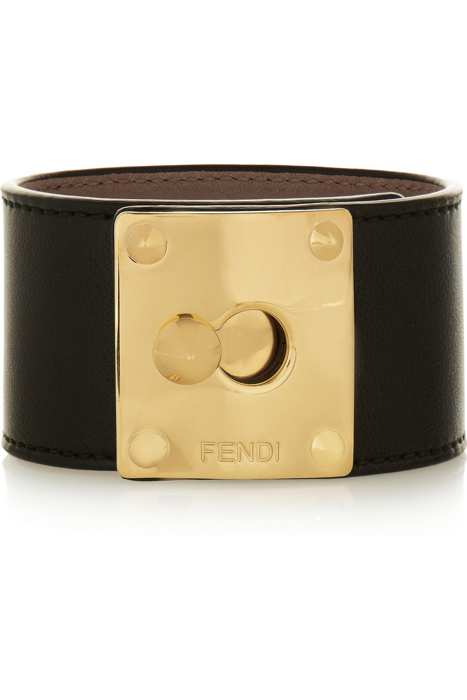 FENDI Leather Cuff buy HERE