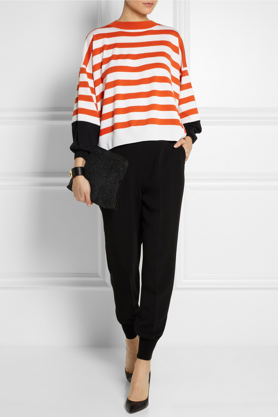 STELLA McCARTNEY Striped Wool Sweater buy HERE