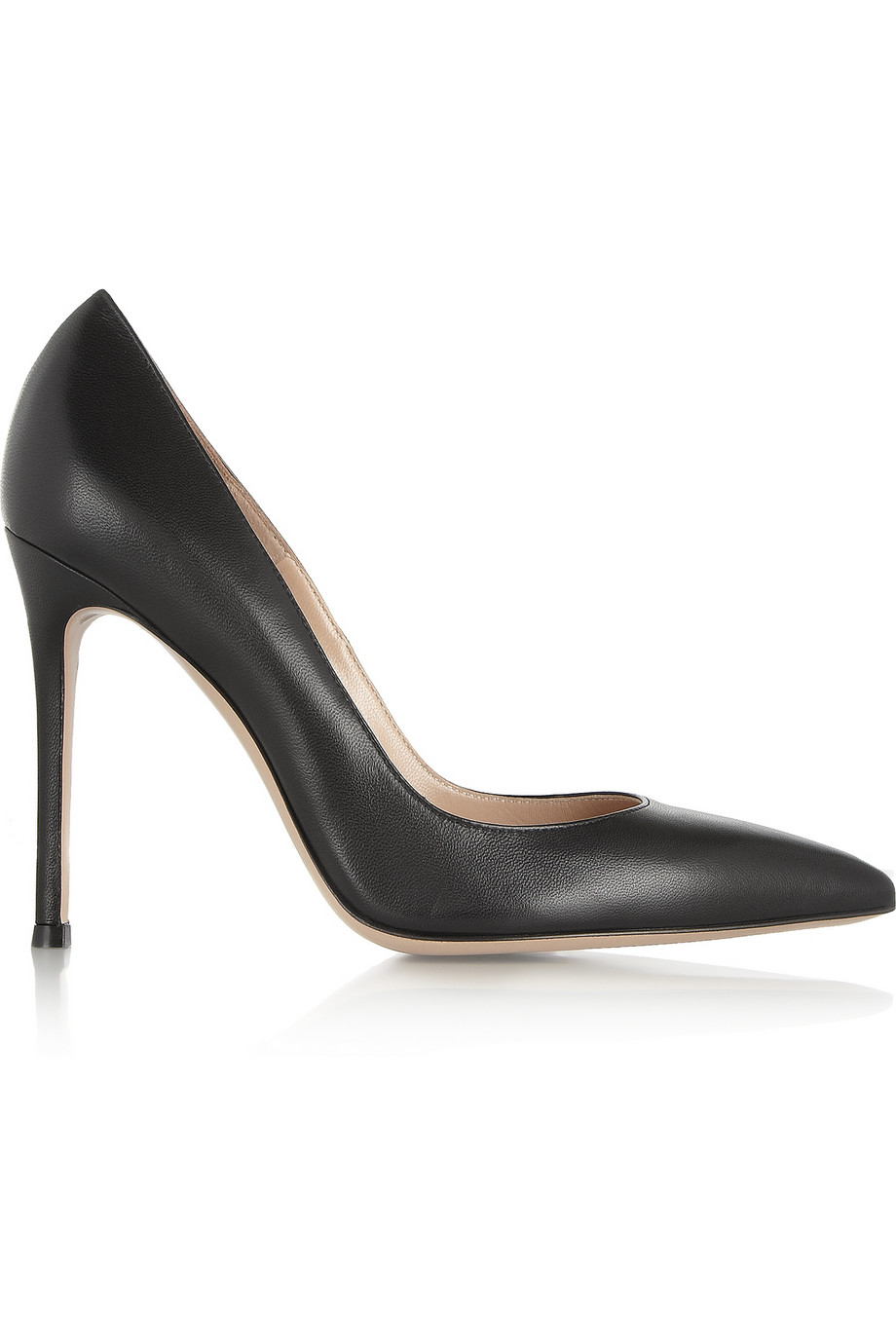 GIANVITO ROSSI Leather Pumps buy HERE