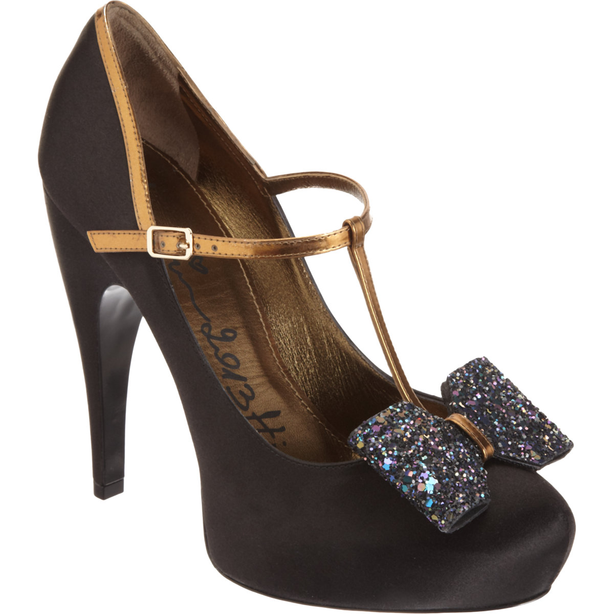 LANVIN  Satin T-Strap Bow Pump buy HERE