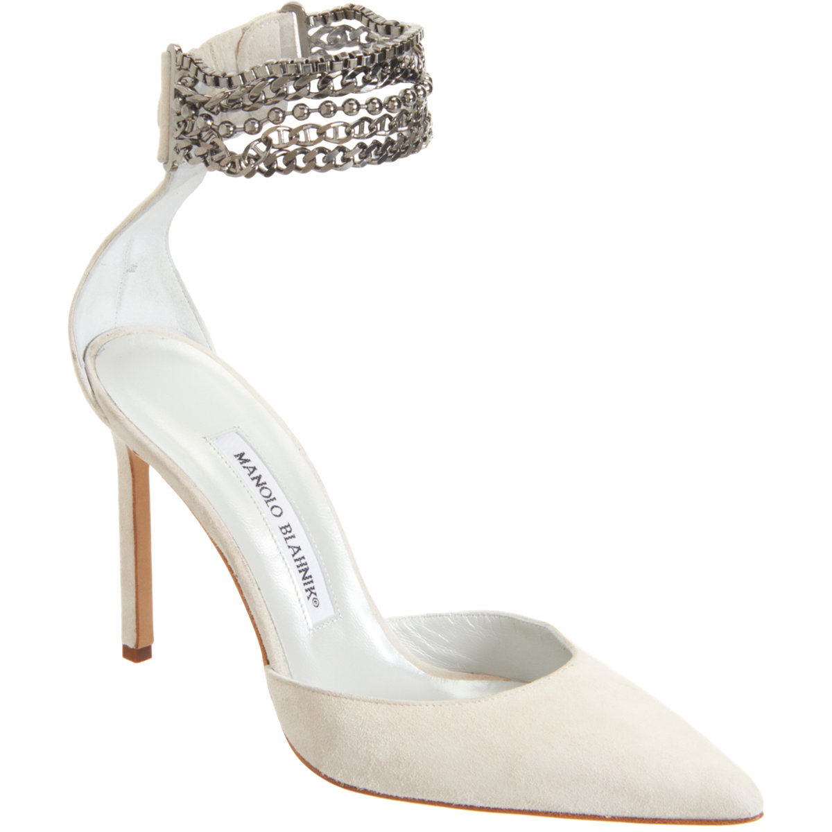 MANOLO BLAHNIK Suede Evolu buy HERE