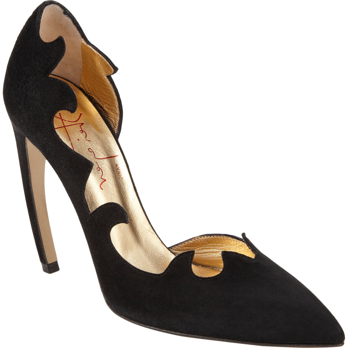 WALTER STEIGER Edged D'Orsay Pump buy HERE