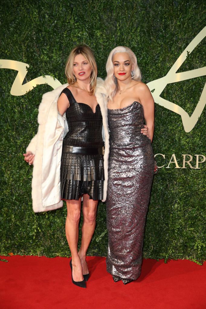 Kate Moss & Rita Ora