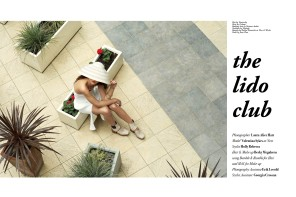The Lido Club by Laura Hart for L'Beaut #2
