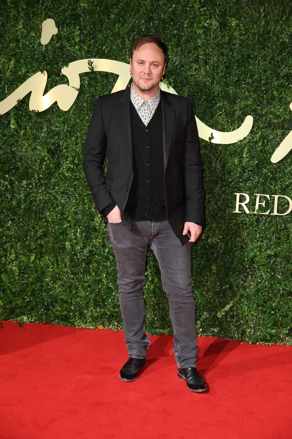 Nicholas kirkwood british fashion awards