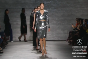 DAY 5 FINAL WALKS AT MERCEDES-BENZ FASHION WEEK FALL 2014