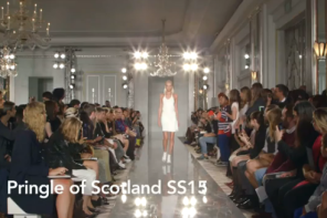 PRINGLE OF SCOTLAND SS15 AT LONDON FASHION WEEK