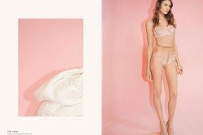 Alexandra Martynova for Stella McCartney F/W 14 Lingerie
