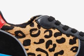 Steve Madden Trackk Trainer w/ Leopard Print