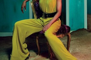 Ciara for Roberto Cavalli FW/15