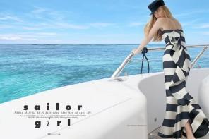 Milou Sluis by Juan Martin for Elle Vietnam