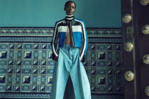Kai Newman at Premier Models for Bergdorf Goodman's Latin Flavor
