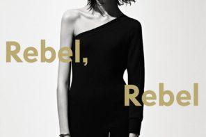 Ewa Wladymiruk at Elite NYC for Barneys New York R13 Rebel Rebel Lookbook