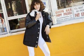Steffy Argelich at IMG for Bergdorf Goodman Fall 2016