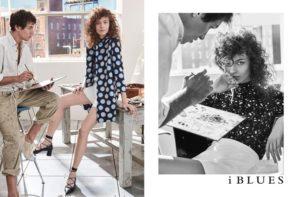 Adrian Cardoso & Mina Cvetkovic for iBlues SS/17 Campaign