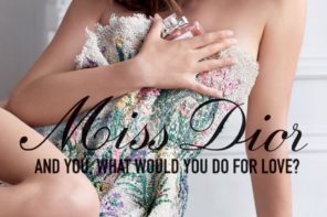 Natalie Portman for Miss Dior Perfum 2017Campaign