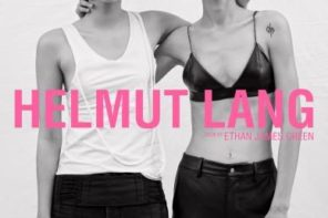 Helmut Lang FW17 Campaign by Ethan James Green