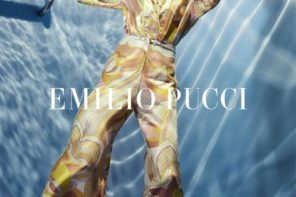Valery Kaufman at Select for Emilio Pucci SS18