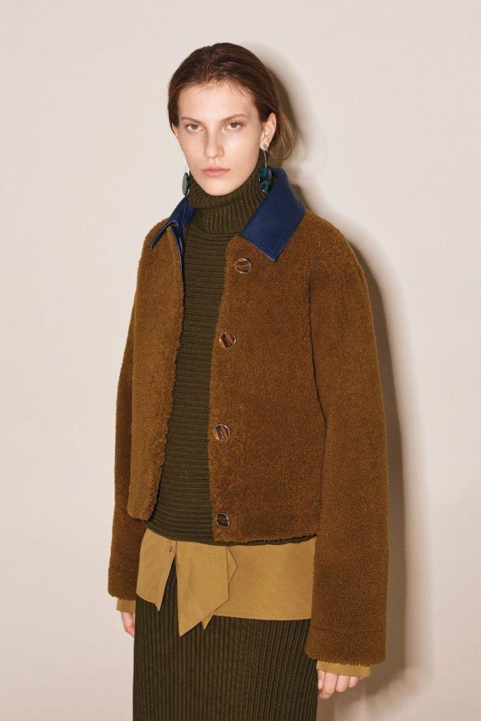 Silke Van Daal At Women Mgmt For Victoria Beckham Pre-Fall