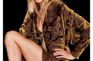 Natasha Poly at Select by Matt Easton for Dundas FW18 Campaign