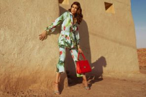 Davinia Pelegri & Oriol Elcacho at Sight Mgmt by Ohnur for Pedro del Hierro SS18 Campaign