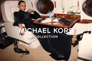 Binx Walton at Next for Michael Kors Collection FW18 Campaign