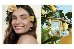 Andreea Diaconu at IMG for Happy Chopard Fragrance 2018