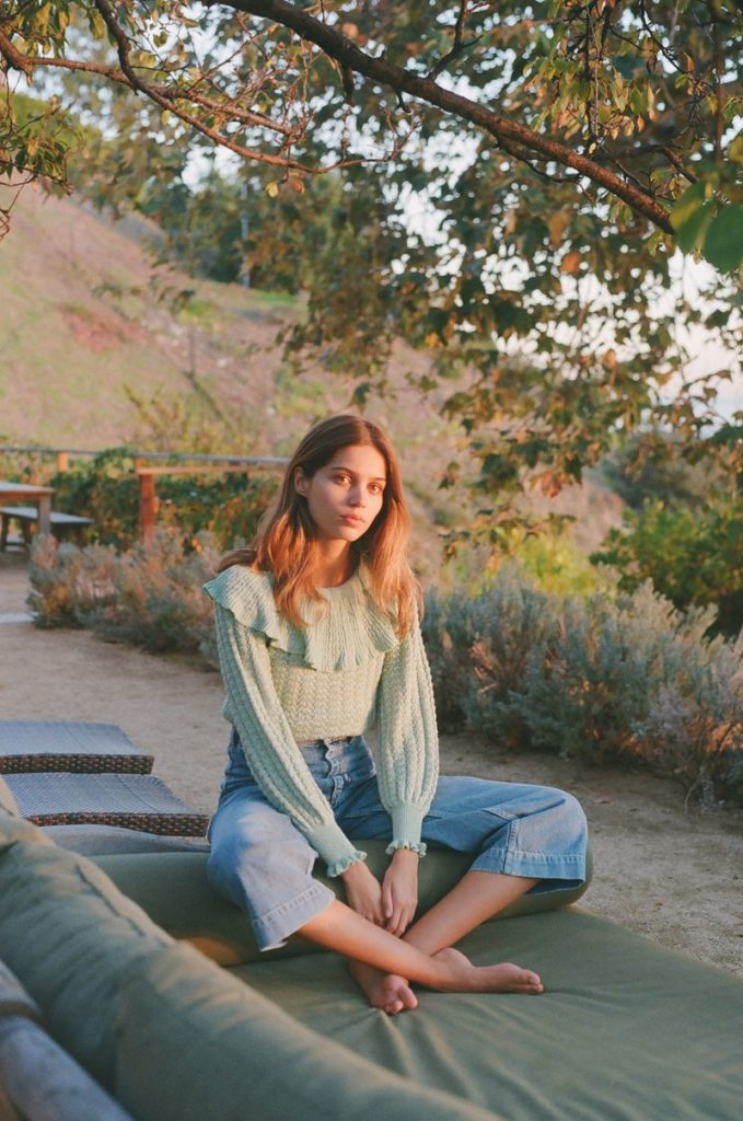 e5adf88bd998 Constanze Saemann at View Mgmt for Free People SS19 Lookbook | BEAUTY REBEL  – BRITISH BEAUTY JOURNAL