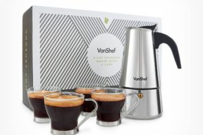 Lifestyle: Professional Home Espresso With VonShef
