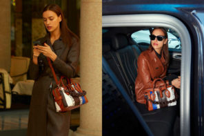 Irina Shayk at Select for Tod's D-Styling Bag